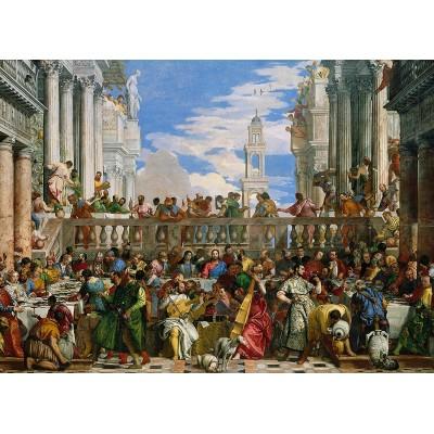 Veronese Hochzeit Zu Kana 1000 Teile Clementoni Puzzle Online