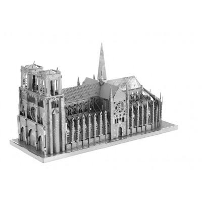 Iconx-ICX-003 3D Puzzle aus Metall - Notre Dame de Paris