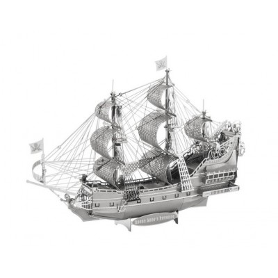 Iconx-ICX-009 3D Puzzle aus Metall - Queen Anne Revenge