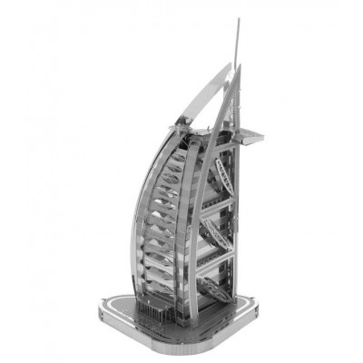 Iconx-ICX-012 3D Puzzle aus Metall - Burj Al Arab