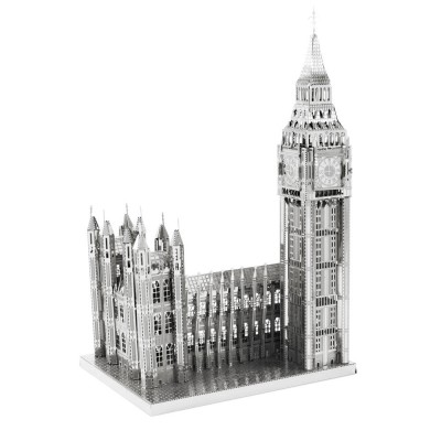 Iconx-ICX-018 3D Puzzle aus Metall - Big Ben