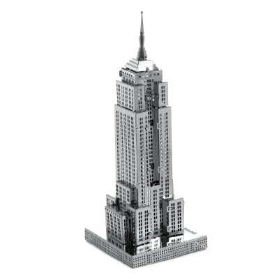 Metal-Earth-MMS010 3D Puzzle aus Metall - Empire State Building