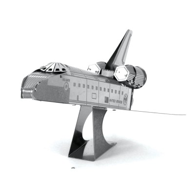 Metal-Earth-MMS015 3D Puzzle aus Metall - Raumfähre Atlantis