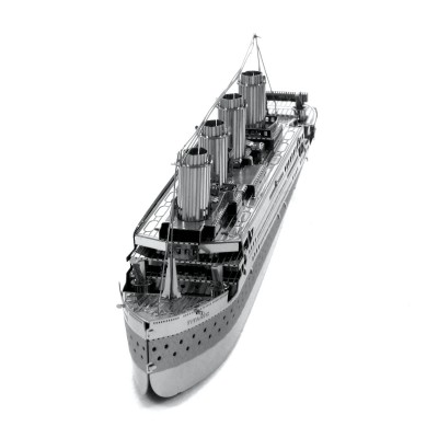 Metal-Earth-MMS030 3D Puzzle aus Metall - Titanic