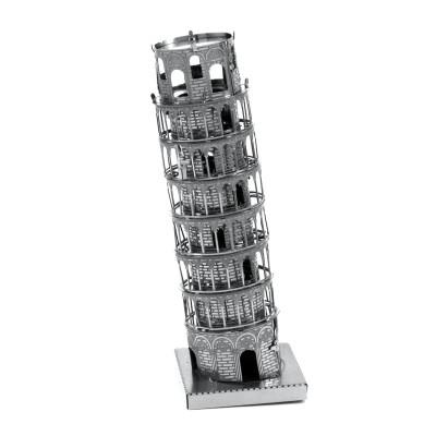 Metal-Earth-MMS046 3D Puzzle aus Metall - Schiefer Turm von Pisa