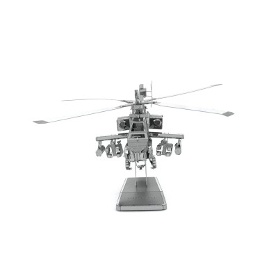 Metal-Earth-MMS083 3D Puzzle aus Metall - Apache AH-64