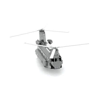 Metal-Earth-MMS084 3D Puzzle aus Metall - CH-47 Chinook