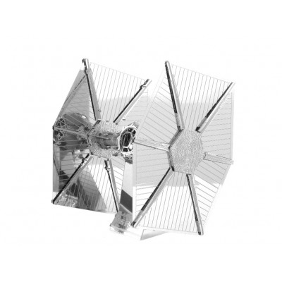 Metal-Earth-MMS256 3D Puzzle aus Metall - Star Wars: Tie Fighter