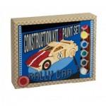 Professeur-Puzzle-53241-1194 3D Puzzle aus Holz + Farben - Rally Car