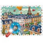 Puzzle  Ludattica-52462 XXL Teile - Die Stadt