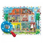 Puzzle  Ludattica-58259 XXL Teile - Baby Détective: My House