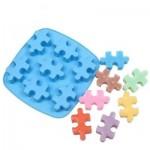 Cook-003 Silikonform Puzzleteil zum Backen oder für Eiswürfel