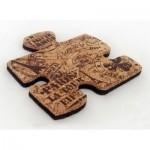 Cook-004 1 Untersetzer aus Kork in Puzzleteil-Form
