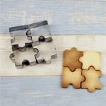 Cook-33801 Ausstecher Puzzleteil - 4 Stück