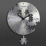 T-Best-01 Wanduhr - Puzzle - 40 cm