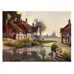 Puzzle  The-House-of-Puzzles-1233 Village Pond