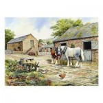 Puzzle  The-House-of-Puzzles-1325 Farmyard Companions