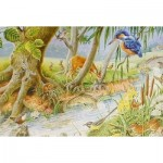 Puzzle  The-House-of-Puzzles-1370 XXL Teile - By The Riverbank