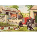 Puzzle  The-House-of-Puzzles-1882 XXL Teile - Dog & Duck