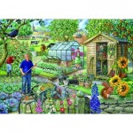 Puzzle  The-House-of-Puzzles-2179 XXL Teile - At The Allotment