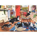 Puzzle  The-House-of-Puzzles-2216 XXL Teile - Mum's Helpers