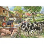 Puzzle  The-House-of-Puzzles-2223 XXL Teile - Oak Tree Farm