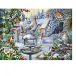 Puzzle  The-House-of-Puzzles-2247 XXL Teile - Winter Birds