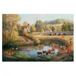 Puzzle  The-House-of-Puzzles-2476 XXL Teile - Waiting to Cross