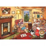 Puzzle  The-House-of-Puzzles-3800 Christmas Collectors Edition No.11 - A Story For Christmas