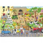 Puzzle  The-House-of-Puzzles-3848 Funny Farm