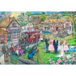 Puzzle  The-House-of-Puzzles-4074 Twenties Green