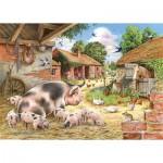 Puzzle   XXL Teile - Poppy's Piglets