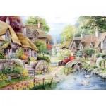 Puzzle   XXL Teile - River Cottage