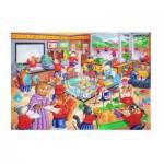 Puzzle   XXL Teile - School Days
