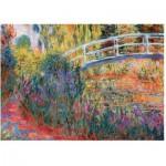 Wentworth-1210 Holzpuzzle - Claude Monet: Le Pont Japonais