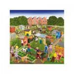 Wentworth-662003 Holzpuzzle - Louise Braithwaite: Allotments