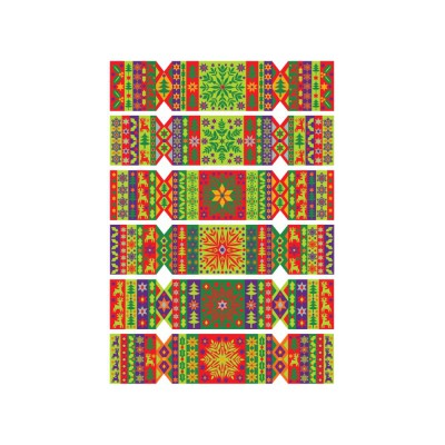 Wentworth-692901 Holzpuzzle - Jane Ryder-Gray: Festive Crackers!