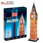 Cubic-Fun-C094H Puzzle 3D - Big Ben, London, England
