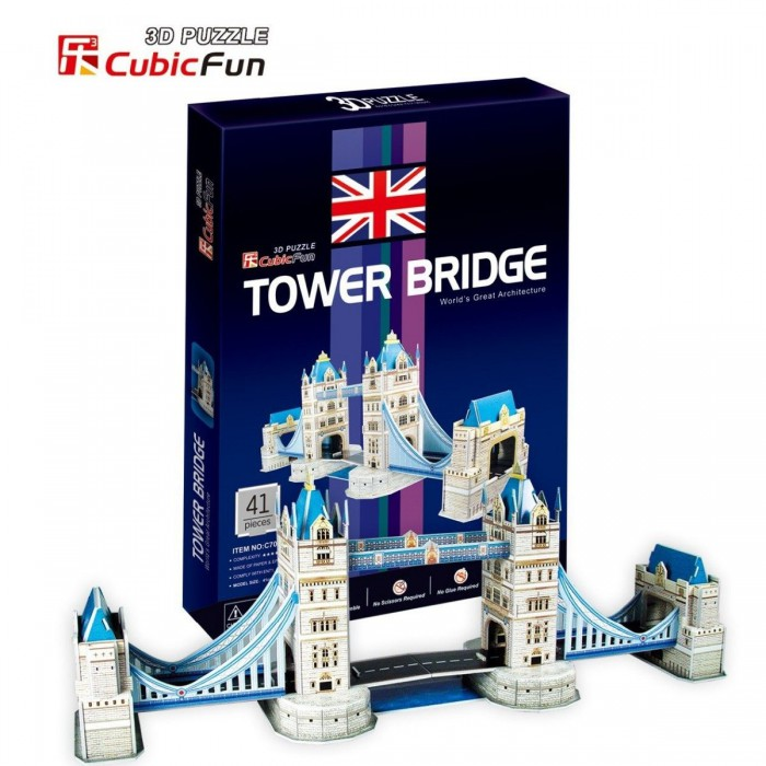 Puzzle 3D - London: Tower Bridge