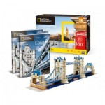 Cubic-Fun-DS0978h 3D Puzzle - Tower Bridge, London - Schwierigkeit: 6/8