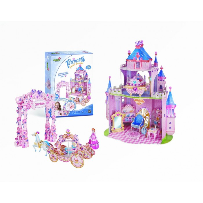3D Puzzle - Princess Secret Garden
