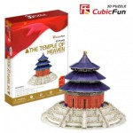 Cubic-Fun-MC072H Puzzle 3D - Tempel des Himmels, Peking, China
