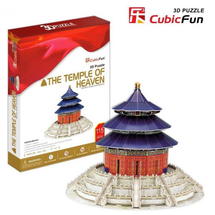 Puzzle 3D - Tempel des Himmels, Peking, China