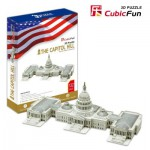 Cubic-Fun-MC074H Puzzle 3D - Capitol, Washington, USA