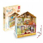 Cubic-Fun-P667H Puzzle 3D mit LED - Eric's Home