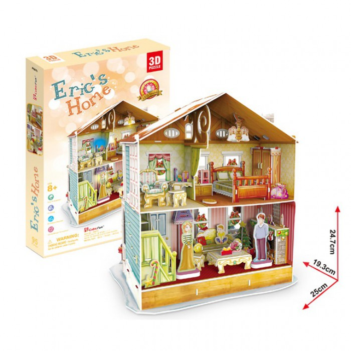 Puzzle 3D mit LED - Eric's Home