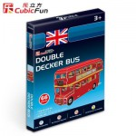 Cubic-Fun-S3018H Puzzle 3D Mini - Londoner Bus
