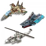 Cubic-Fun-Set-Super-Military 3 3D Puzzles - Set Super Military