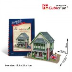 Cubic-Fun-W3106H 3D Puzzle World Style - Welcome to UK