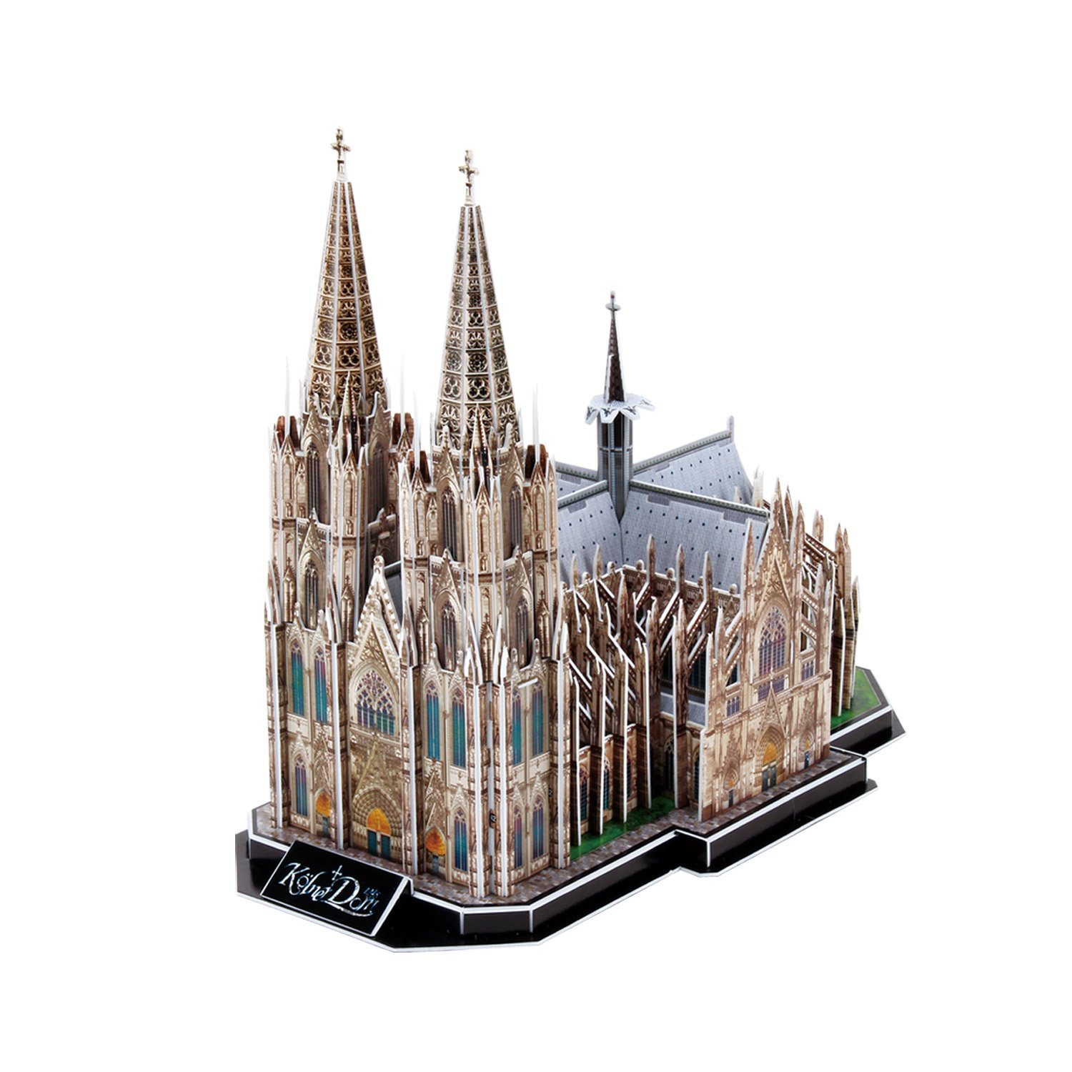 puzzle 3d k lner dom k ln deutschland 179 teile cubic fun puzzle online kaufen. Black Bedroom Furniture Sets. Home Design Ideas